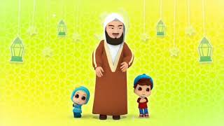 Eid Mubarak Everyone! Omar and Hana and Mufti Menk  IMAGES, GIF, ANIMATED GIF, WALLPAPER, STICKER FOR WHATSAPP & FACEBOOK