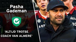 Pasha Gademan: 'Altijd trots om coach van Almere te zijn'
