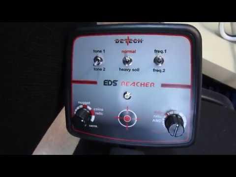 Metal detector Detech EDS Reacher 28 kHz - test