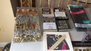 New Year's Eve Party Haul & Setup