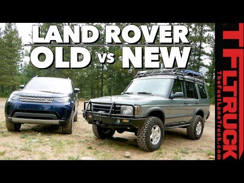 Old vs New Land Rover Discovery: Can Old Gear Beat New Tech on Gold Mine Hill?