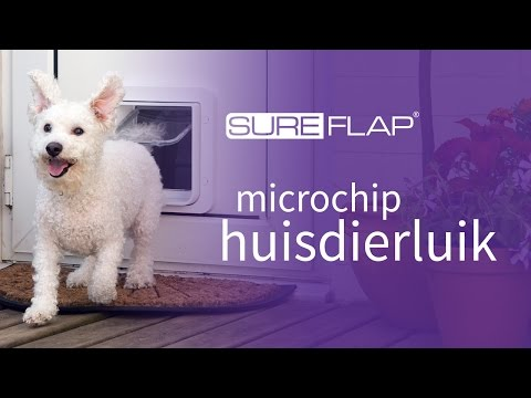 Het SureFlap microchip huisdierluik gebruiken