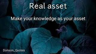 whatsapp status-Real asset
