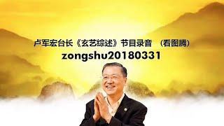 Zongshu20180331 卢军宏台长《玄艺综述》节目录音  (看图腾)