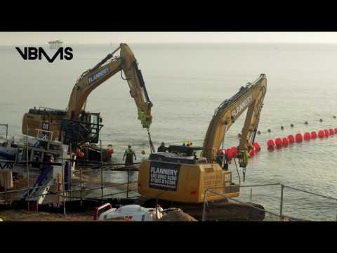 offshore wind farm   export cable shore landing