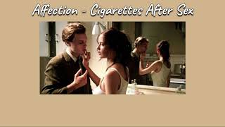 Cigarettes After Sex   Affection [THAISUB|แปลเพลง]