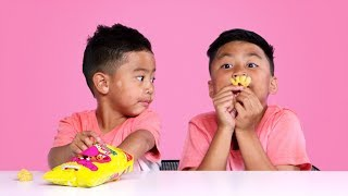 Kids Try Snacks from Great Britain   Kids Try   HiHo Kids