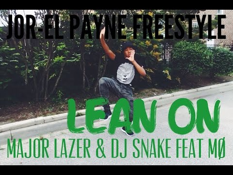 Jor-El Payne Freestyle | LEAN ON by @MAJORLAZER & @djsnake ft. @MOMOMOYOUTH  | #PeaceIsTheMission