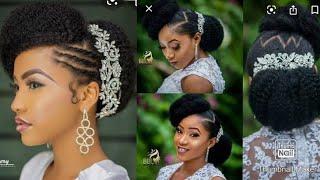 MITINDO MIPYA YA KUBANA NYWELE MAHARUSI /NEW HAIR STYLES FOR BRIDES