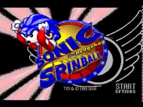 Intro, sonic spinball, sega mega drive-genesis