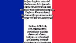 La Marseillaisa - Štátna hymna Francúzska (slovenský preklad)