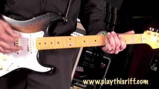 "T.S.O.L. guitar lesson ""Code Blue"" PlayThisRiff.com"