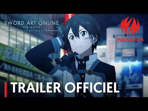 Sword Art Online: Ordinal Scale | Trailer officiel [VOSTFR]