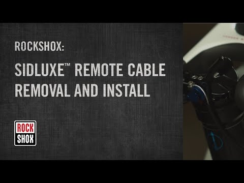 SIDLuxe™ Remote Cable Removal and Install