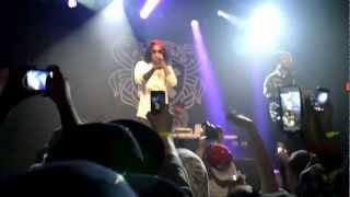 Ab-Soul ft Danny Brown -Terrorist Threats Detroit Michigan 3/1/13