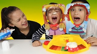 Pie Face Showdown Kids Fun Game Challenge Cream In The Face  With Ckn Toys