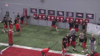 The Ohio State Buckeyes Offensive Line Shuffling and Striking with The Difference