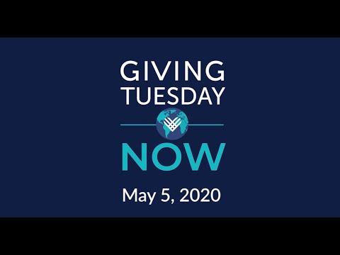 Watch a video about #GivingTuesdayNOW
