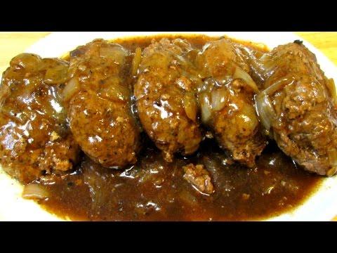 Salisbury Steak Recipe – How To Make Classic Salisbury Steak and Gravy