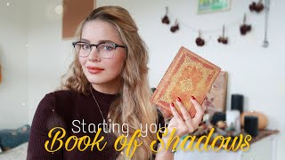 Starting your Book of Shadows    WICCA 101