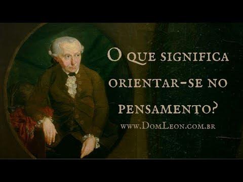 Audiobook: Kant, O que significa orientar-se pelo pensamento? Filosofia