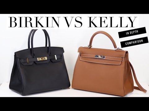 HERMES BIRKIN VS KELLY – In Depth Comparison | Mel in Melbourne