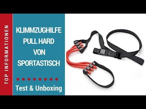 """ᐅ Unboxing- und Test-Video der Klimmzughilfe """"Pull Hard"""" von Sportastisch auf Deutsch  ☑"""