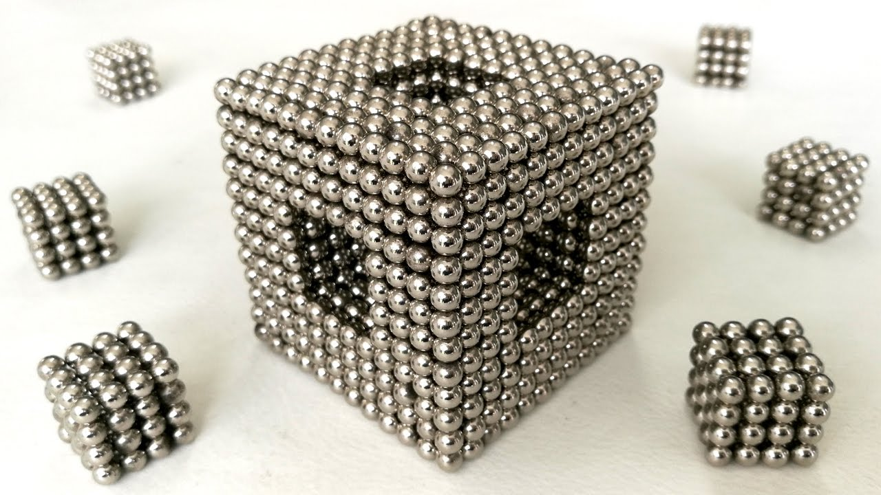 Shape and Tricks with Magnetic Balls
