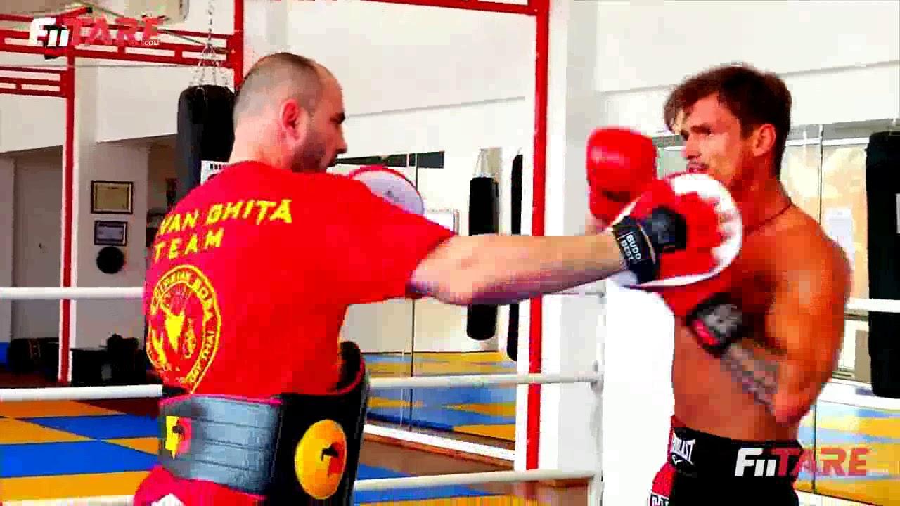 Bogdan Vladau - Antrenament Kickboxing