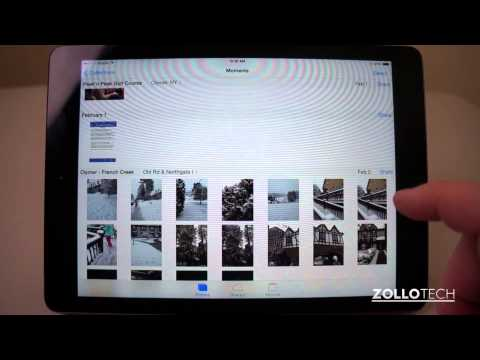 iPad Tips - How To Delete All Photos at Once in iOS 7