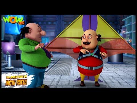 Motu Patlu New Episode | Cartoons | Kids TV Shows | John The Kite Man | Wow Kidz