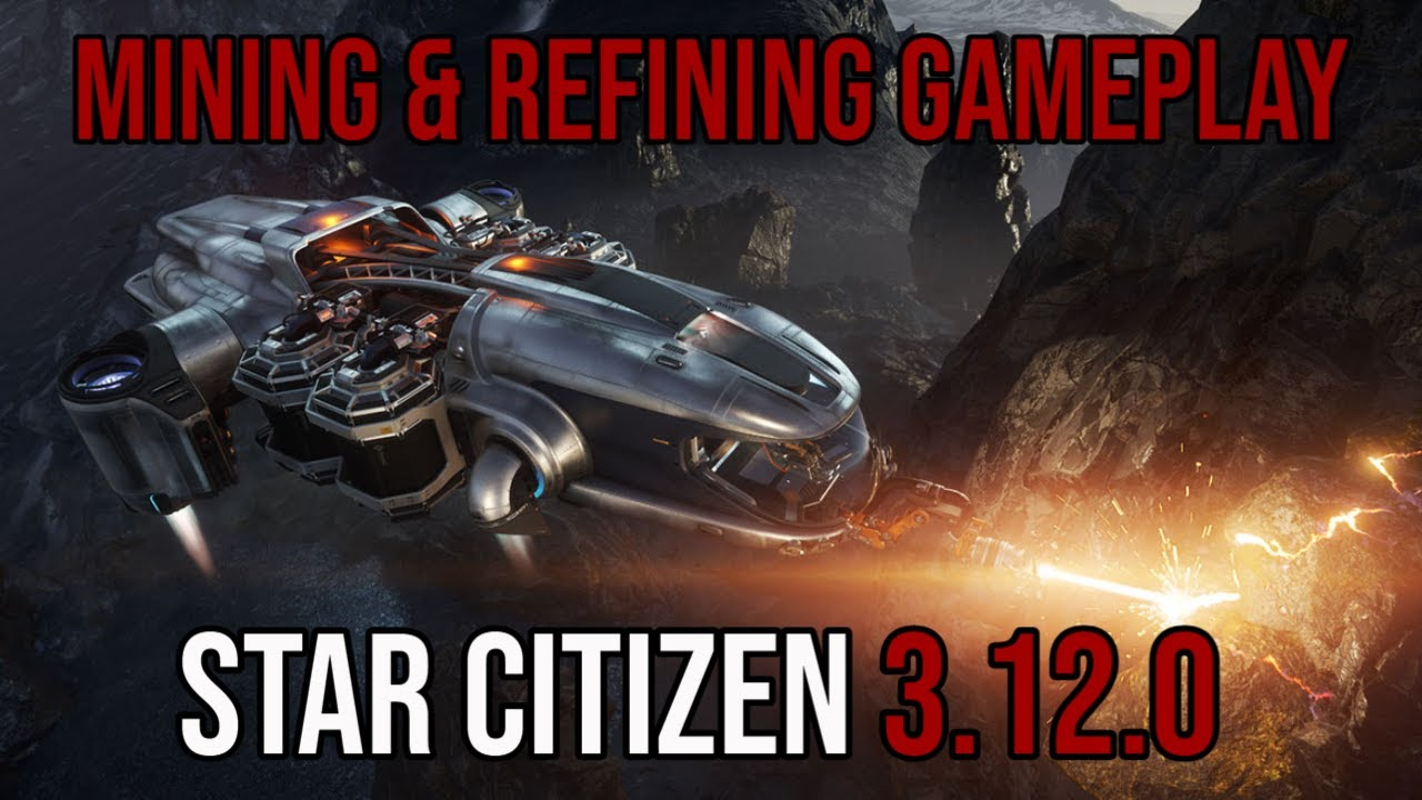 Star Citizen 3.12.0 | New Mining & Refining Gameplay - Nomad Giveaway
