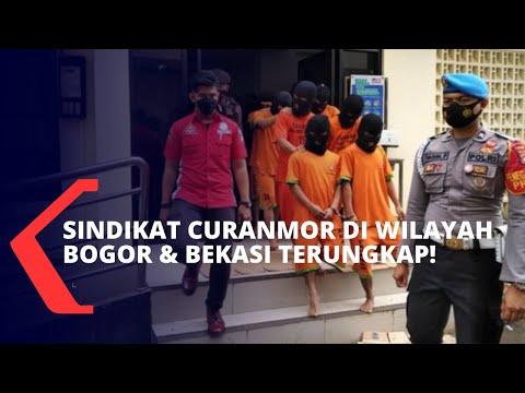 Polisi Tangkap Jaringan Sindikat Curanmor yang Sering Beraksi di Wilayah Bogor dan Bekasi
