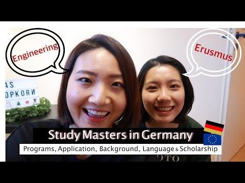 德國留學|我們如何到德國讀碩士🤓跨領域?歐盟獎學金? | Study masters in Germany