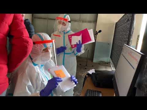 Video: Nové odběrové místo pro vyšetření koronaviru v Ostravě