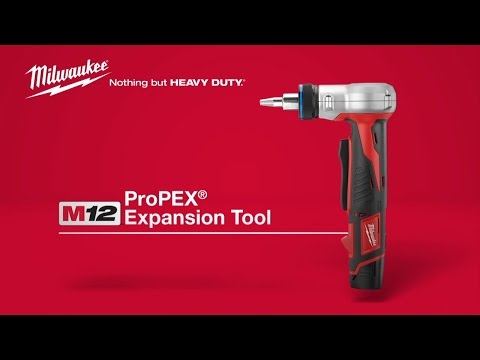 m12 propex expansion tool kit milwaukee 2432 22xc new ebay. Black Bedroom Furniture Sets. Home Design Ideas
