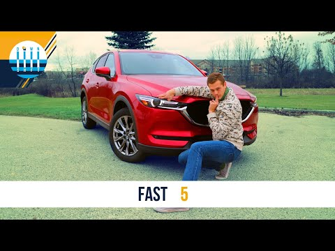 FAST 5 | 2020 Mazda CX-5 Review - SEDUCTIVE Utility Vehicle (SUV)