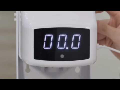 Transair Automatic Sanitizer Dispenser Cum Body Temperature Sensor