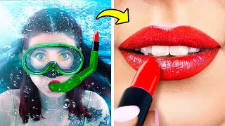 18 Ways to Sneak Makeup into a Water Park