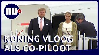 Koningspaar landt voor staatsbezoek in regenachtig Berlijn | NU.nl
