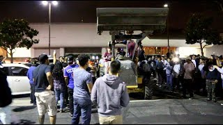 HE STOLE THE TRACTOR! Car Meet Gone Wrong