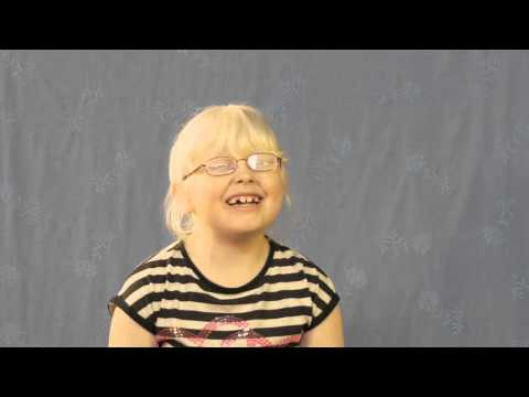 Living with Albinism - Jessica
