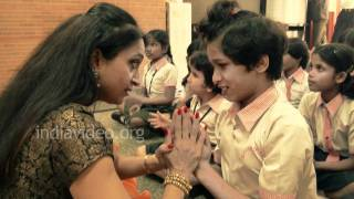 Why a dance workshop for blind children? Pali Chandra explains