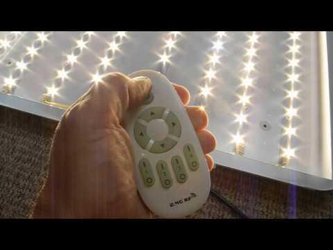 huigou HG®  64W dimmbare LED Deckenleuchte mit Fernbedienung