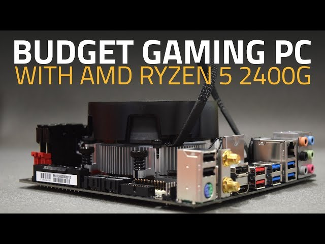 AMD Ryzen 3 2200G, Ryzen 5 2400G, and Gigabyte AB350N-Gaming