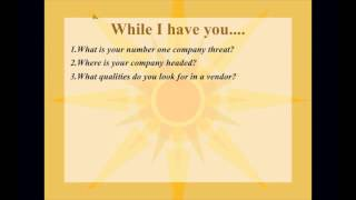 7 Questions to Ask a Customer: August 30, 2013