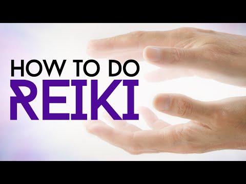 How To Do Reiki Healing - YouTube