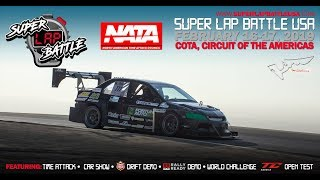 LIVE Super Lap Battle Circuit of the Americas 2019 Day 2!