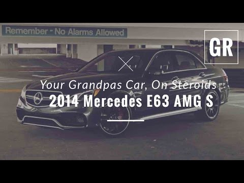 2014 Mercedes E63 AMG S 4Matic Sedan Drive and Review - Gadget Review