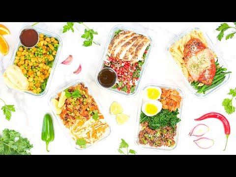 Week 6 | 5 Healthy Back-To-School Meal Prep Boxes!
